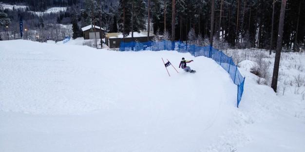 Banked slalom Messilä
