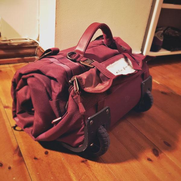 Lumilauta Laukku : N?in pakkaat laskureissun matkatavarat kilon laukkuun