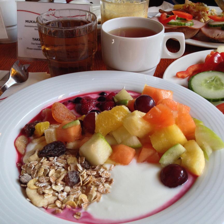 Sokos hotel seurahuone turku aamiainen
