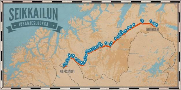 Kilpisjärvi-Nuorgam -reitti