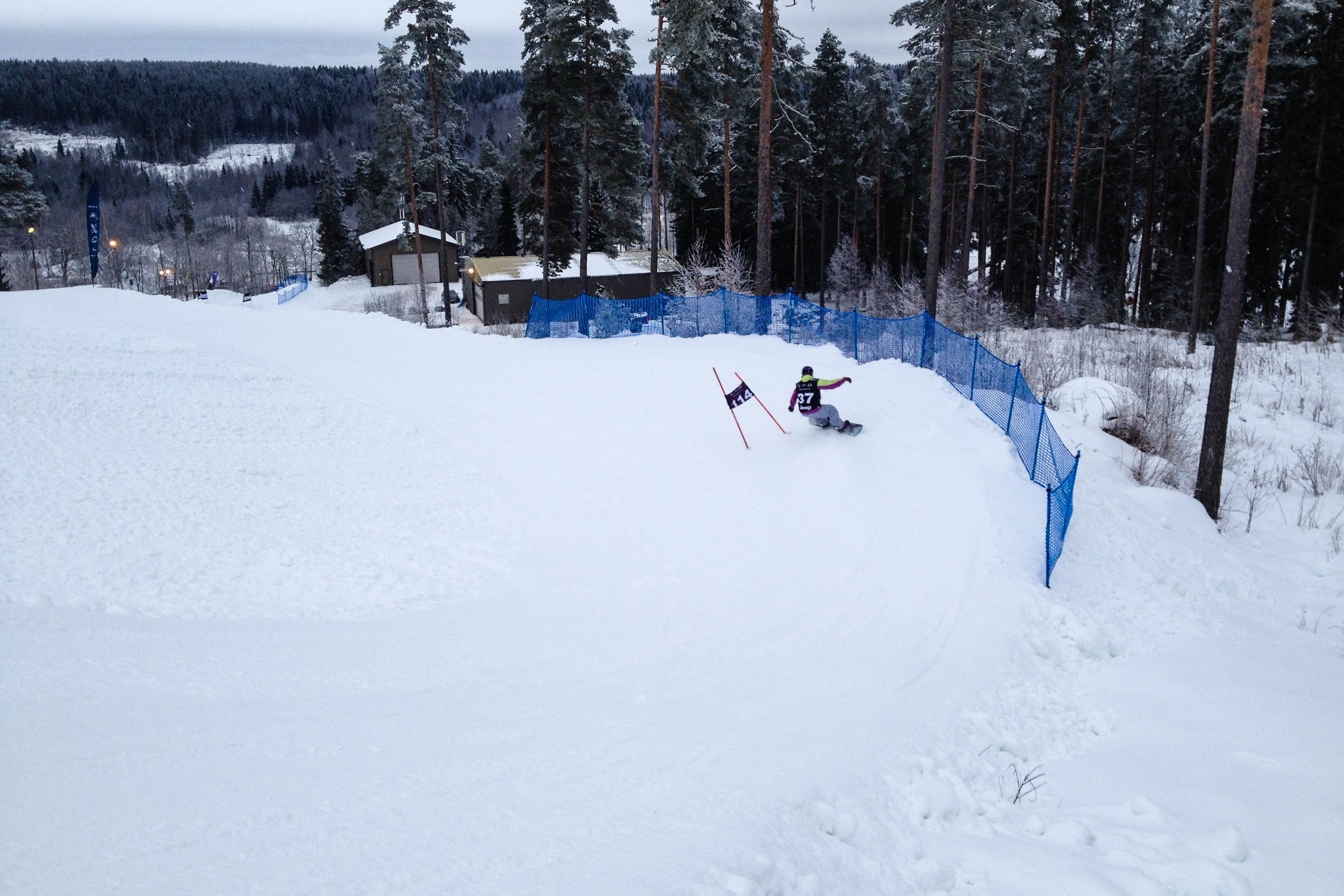 Banked slalom Messilä