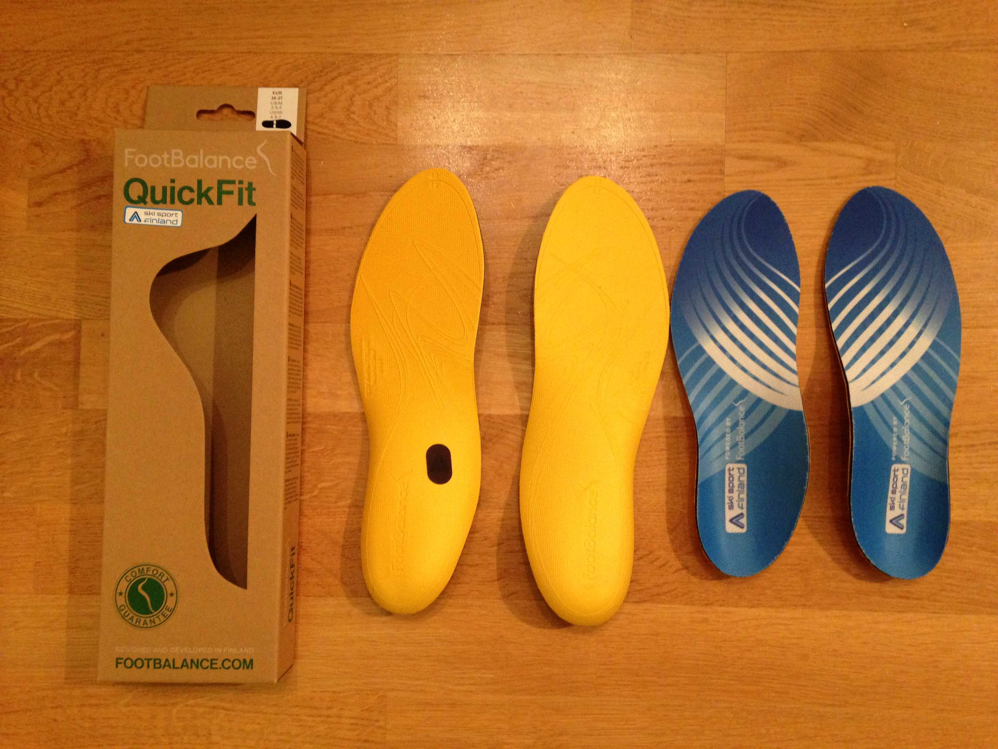 Koeajossa Footbalance Ski Sport QuickFit -pohjalliset a48534112d