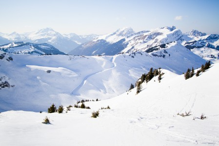 Avoriazin ympärillä on suunnattoman laaja Portes du Soleilin hiihtoalue, joka kattaa 2 maata ja noin 650 kilometriä hoidettuja rinteitä.