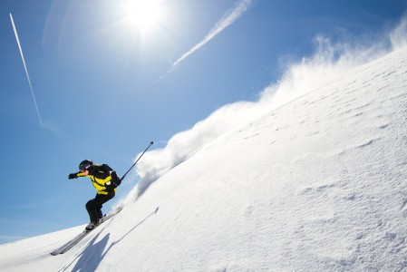 Sveitsin puolelta Portes du Soleilin hiihtoaluetta löytyi mukavasti kumpuilevaa ja hieman koskemattomampaa off-pistemaastoa.