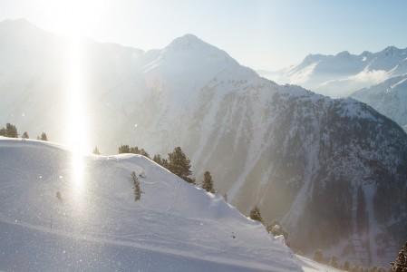 Silvretta Ski arena pitää sisällään 238 kilometriä profiililtaan vaihtelevia rinteitä.