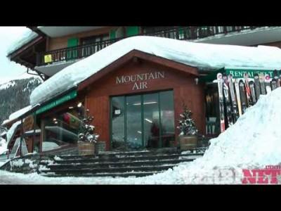 Verbierin hiihtokeskuksen esittelyvideo.