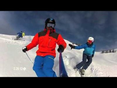 Vailin hiihtokeskus tarjoaa hienoja laskuja myös rinteiden ulkopuolella.