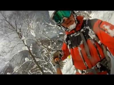 Lumipallon bloggaajan Antti Ruohosen kuvaama video Hakuban Cortinan ja Happo Onen hiihtoalueilta.