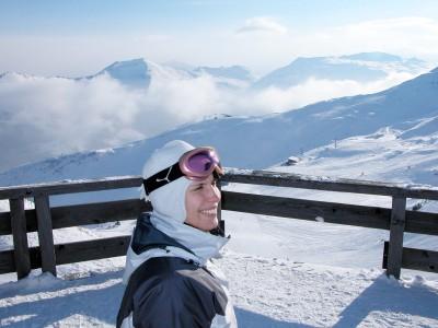 Schlossalmin maisemissa Bad Hofgasteinin hiihtoalueella on useampiakin tunnelmallisia paikkoja rinkelin tai apfelstrudelin nauttimiseen.