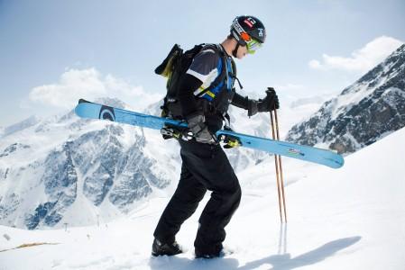 Söldenin hiihtoalueelta löytyy iloluontoista off-pistelaskua vähintään pienen haikkauksen jälkeen.