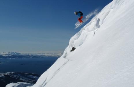 Täydellinen päivä Narvikin mykistävissä maisemissa keväällä 2011.