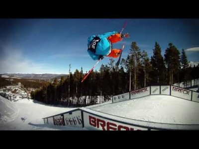 Tom Wallisch lets us follow him around for a few runs in Breckenridge Colorado laden with GoPro HD cameras.