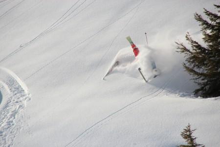 snorklaamista lumessa