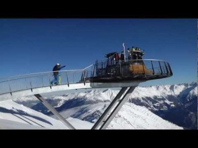 Serfauksen hiihtokeskuksen virallisessa esittelyssä maisemia, rinteitä ja puuteria.