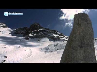 Chamonixin alppikylän ja hiihtoalueen juonnettu esittelyvideo.