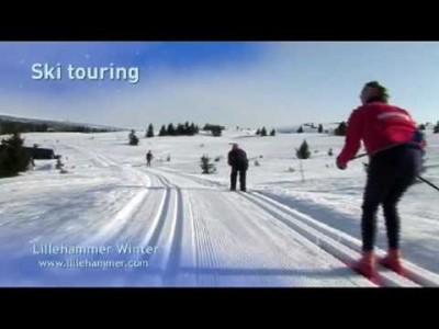 Lillehammerin hiihtoalueen esittely vuodelta 2009.