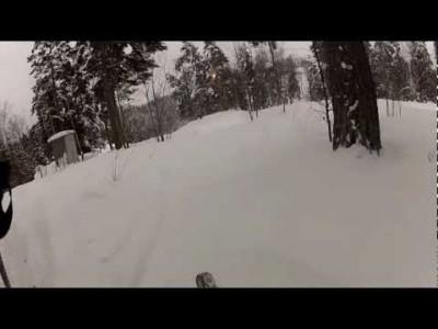 Uuden GoPro-actionkameran testausta Calpiksen maisemissa.