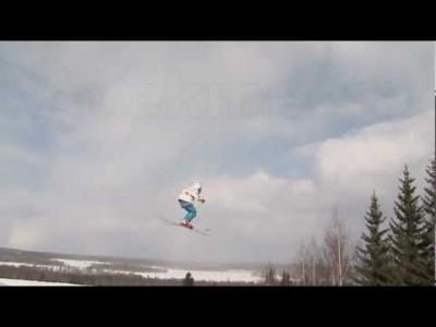 Kasurilan hiihtokeskuksen parkin esittelyvideo.