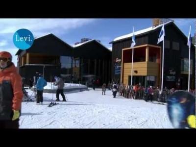 Levin hiihtokeskuksen ja lähialueiden esittelyvideo.