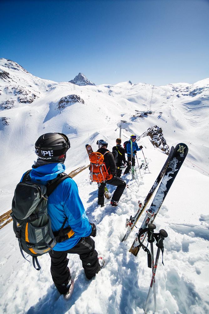 Aurinkoisella ja tyynellä säällä Les 2 Alpes on paratiisinomainen paikka oikeastaan jokaisen laskutavan harrastajalle