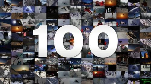 Salomon Freeski TV:n juhlajaksoon on kerätty valikoituja poimintoja 7 tuotantokauden varrelta