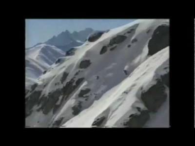 Legendaarisen Free Radicals -vapaalaskuelokuvasarjan ensimmäinen osa vuodelta 1996