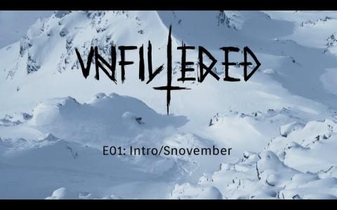 Unfiltered Skiing -jaksossa jätetään marraskuinen Tukholma taakse ja lähdetään etsimään tuoretta lunta Alpeilta.
