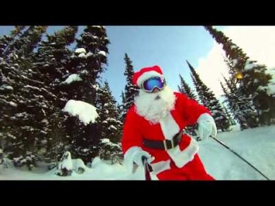 Joulupukki nauttii Whistlerin tarjonnasta
