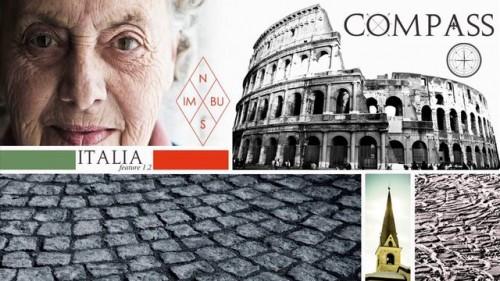 Visuaalisesti näyttävä kolmiosainen Compass-sarja vie katsojat kussakin jaksossa tutustumaan yhden maan kulttuuriin, arkkitehtuuriin, ihmisiin, vuoriin ja laskumahdollisuuksiin.