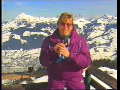 Lyhennelmä SunSki talven 1986-1987 VHS-markkinointitallenteesta