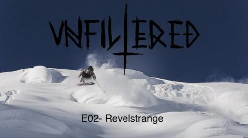 Toisessa Unfiltered Skiing -jaksossa touhutaan Brittiläisen Kolumbian takamaastoissa moottorikelkan ja nousukarvojen avustuksella.