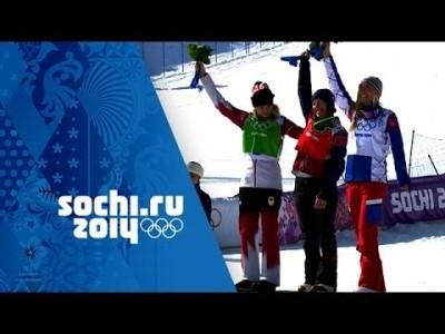 Tiivistelmä Sochin talviolympialaisten naisten lumilautailulajien voittajista ja voittosuorituksista