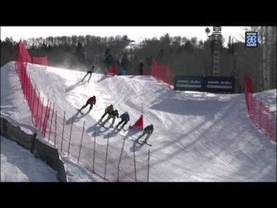 Jouni Pellisen taistelu X Gamesin Skier Cross -finaalissa 2012