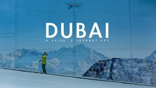 Dubain helteessä 60 metrin korkeuseron sisälasketteluhalli on varsin eksoottinen ilmestys.