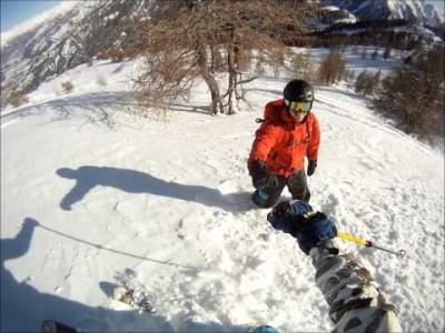 Kun laskijoilla on näin kivaa, on Espace Lumiéresta ja Pra Loupin hiihtokeskuksesta välittyvään hyvään henkeen vaikeaa olla itsekin tarrautumatta mukaan.