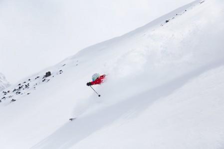 Piztalin hiihtokoulun Marco Beisteiner tietää, mistä löytyy alueen pehmeimmät lumet.