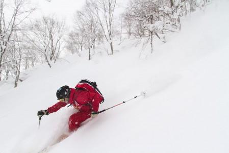 Otarin hiihtoalueeseen kuuluu sekä Cortina että Norikura. Molemmat tarkoittavat Hakuban upeimpia metsälaskuja.