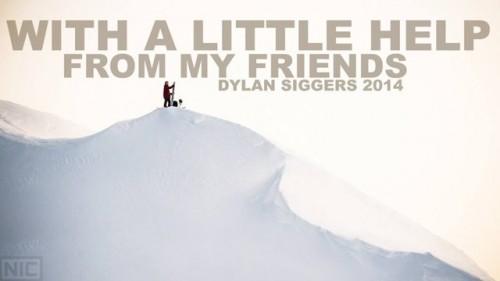 Dylan Siggersin riehakasta laskumeininkiä 2014.