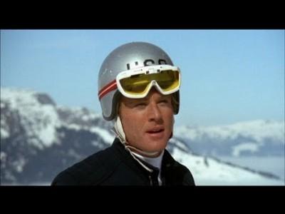 Retrolaskettelua ja mainonnan museokäynti samassa klipissä Robert Redfordin kanssa, ai että!