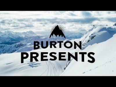 Burtonin laskijoiden näyttävimpiä aikaansaannoksia esittelevän 9 -osaisen webbivideosarjan esittelyosa.