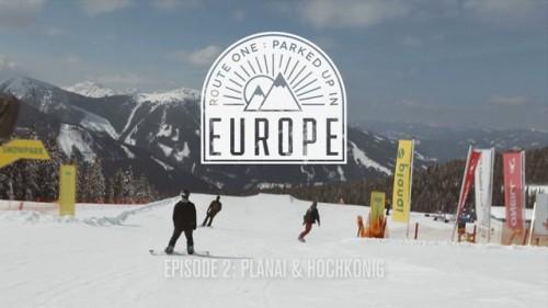 Route One -lautatiimi tekee asuntoautolla 9 päivän reissun Alppien parkkeihin. Jälkimmäisessä osassa Itävallan Schladming Planai Superpark ja Hochkönig King's park.