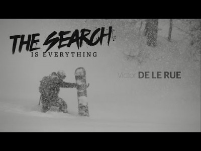 Victor DE LE RUE laskee videossa jyrkkiä jäisiä linjoja Kanadassa ja hyppii isoja ilmoja Alaskassa.