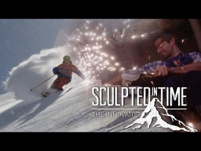 Videossa liikuteen Banffin kansallispuiston takamaastossa sekä paikallisen pyörätuoliurheilijan että kahden vapaalaskijan matkassa.