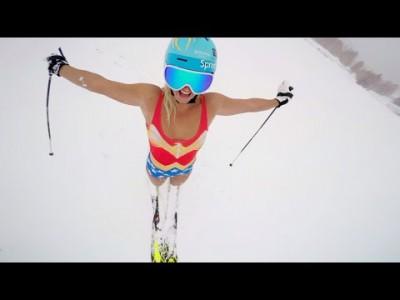 Alppilajien sankaritar Julia Mancuso antaa oman esimerkkinsä kautta vinkkejä vauhdikkaan ja kiinnostavan action-kameravideon kuvaamiseen.