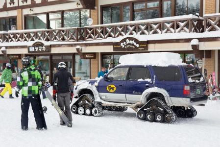 Japanilaiset ovat joutuneet tottumaan tulemaan toimeen suurempien lumimäärien kanssa.