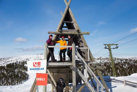 Saariselän eli pohjoissaamelaisittain Suolo?ielgin maisemat sijoittuvat Urho Kekkosen kansallispuiston kupeeseen Inarissa.