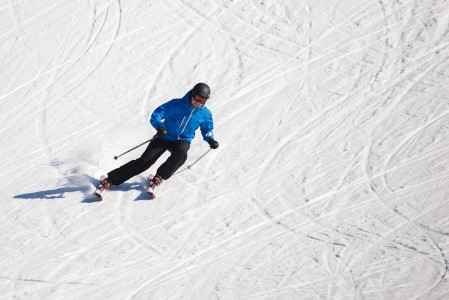 Myllymäen hiihtokeskuksen rinteillä Lappeenrannan Joutsenossa on kurvailtu vuodesta 1984.