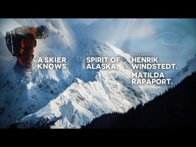 Ruotsalaiset vapaalaskijat Henrik Windstedt ja Matilda Rapaport vievät katsojan Alaskan mahtaville vuorille.