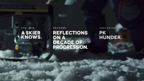 A Skier Knows -sarjan toinen osa tutustuttaa big air laskija PK Hunderiin sekä hänen ajatuksiinsa laskemisesta.