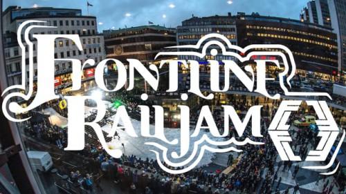 Tukholmassa järjestettiin lauantaina jokasyksyiset Frontline Railjamit. Suomalaisista mukana olivat Jeppe Rontti, Rene Rinnekangas, Kalle Järvilehto ja Joel Ahola.